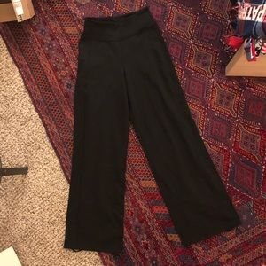 Lululemon Wide Leg High Waist Pant